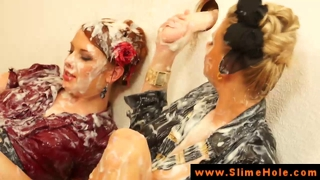 Bukkake Babes Creamed At The Gloryhole
