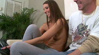Katie Jordin Giving A Happy New Year Blowjob