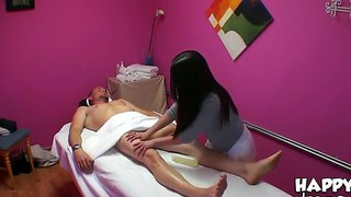 Masseuse Mika Sparx Is Paid For Hand And Blow Job