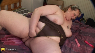 Big Mother Mirella Gets A Face Full Of Cum
