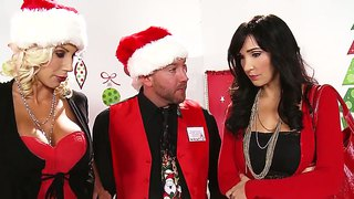 Funny Christmass Sex Party With Puma Swede And Will Powers