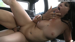 Sweet Teen Fucks Hard In A Van In Her First Scene