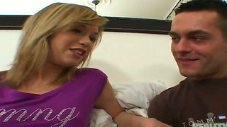 Niki Nute Playing With Her Boyfriend And Enjoying His Dick