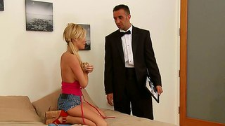 Keiran Lee Bangs His Babysitter Tasha Reign