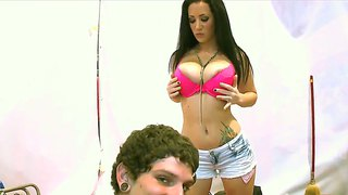 Tight Ass Whore Jayden Jaymes Does Titjob In Pov