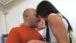 Angel Rivas Gets Her Tight Pussy Smashed By Hunk Omar Galanti In Nasty Scene