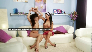 Carie And Andy Lovely Lesbo Girls Anal Fingering