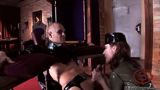 Jenna Haze Is Into Bdsm Cock Sucking Action