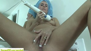 Sara James Masturbates With Magic Wand