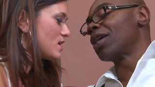Young Cece Stone And Black Sean Michaels In The Sex Interlude