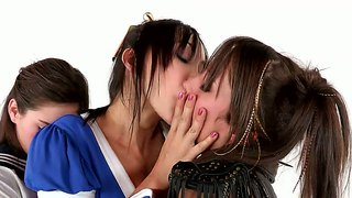 Katsuni And Risi Simms In Hot Cosplay Lex Scene
