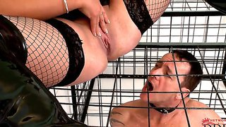 Emma butt loves to dominate horny males and turn them into her sex slaves