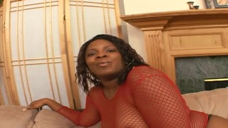 Luscious Ebony Girl Annabelle Takes A Drilling