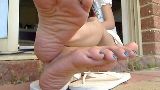 Thai Asian Feet 2