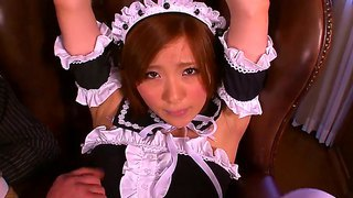 Lascivious Japanese Housemaid Rin Sakuragi Gets Vaginally Violated