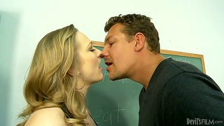 Vicky vixen gets fucked by her student