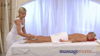 Massage Rooms Horny And Oiled Lesbian Action With Big Boobs