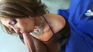 Mature With Huge Tits Eva Notty Pleases Hunk Voodoo And His Hard Dick