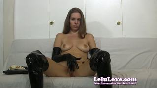 Lelu Love-Lots Of Gloves Masturbation