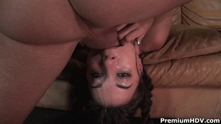Brutal Mouth Fucked Sasha Grey