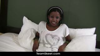 Belleses Morenes Interracial Mamada