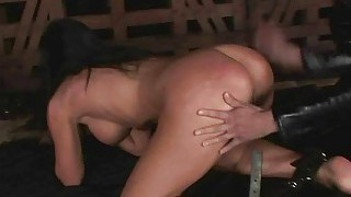 Young Mistress Dominating Slavegirl