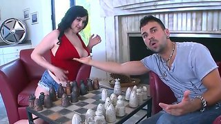 Marvelous Dark Haired Babe Beverlt Paige Is Being Fucked By Her Handsome Boyfriend Voodoo