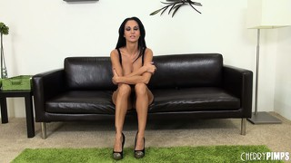 Ava addams bares her bodacious tattas and does a sexy little dance
