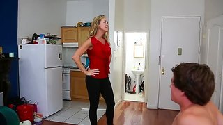 Brandi Love And Tyler Nixon In Hot And Crazy Action