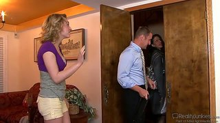 Kinky Lily Labeau Caught Trying On A Strap On