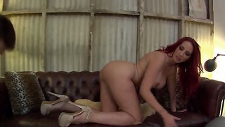 Redhead Kelly Divine Dominates Over Kyle Stone