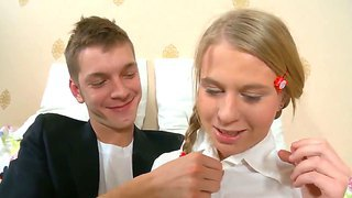 Young And Beautiful Talented Schoolgirl Serina Proves That She Is Very Bad Ad Naughty