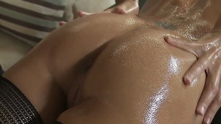 Nice Massage And Then Deep Throat Blowjob By Keiran Lee