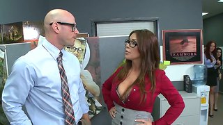 Wonderful Foursome With Johnny Sins