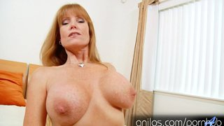 Mature Mom Darla Cranes Huge Tits And Hungry Pussy