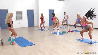 Need A Private Aerobics Lesson?