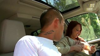 Redhead Milf Nicki Hunter Banged By Asian Pal