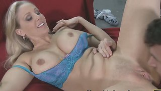 Julia Ann Ready For His Hard Long Boner