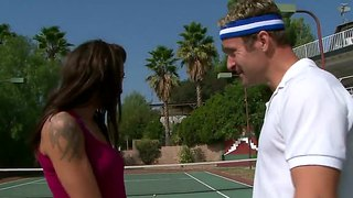 A Tennis Match Takes A Very Unexpected Turn