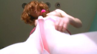 Have A Look At Amazing Curious Redhead Russian Babe Vika Playing With Herself