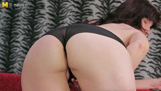 Horny Mature Mom Playing With Herself