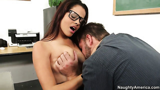 Cocoa aria arial and alec knight are two sex addicts that make each other happy in hardcore action