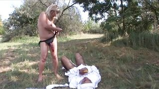Blonde Mommy Fucking Her Boy To Stop Him Crying