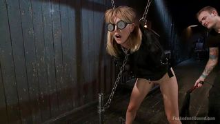 Bad Girl Mona Gets Spanked In The Dungeon