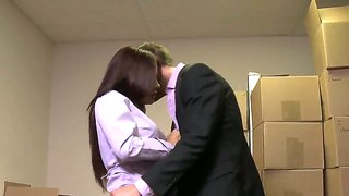 Pretty asian prostitute kaylani lei gets pleasure and money