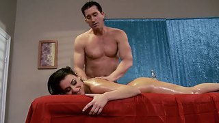 A Hot Pornstar Charley Chase Is Doing An Amazing Blowjob