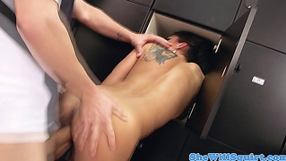 Squirting Pornstar Bonnie Rotten Double Penetrated