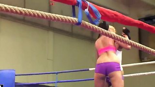 Barbie Black And Becky Stevens Fight It All Out