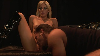 Courtney Simpson Drinks A Mouthful Of Cum