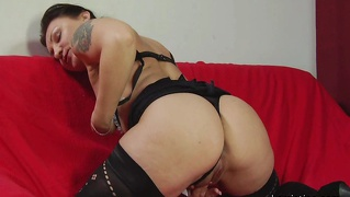 Hd Horny Brunette Mature In Stockings Hardcore Sex